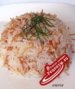 Рис с вермишелью