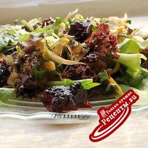 Салат со свекольным мармеладом