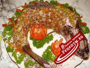 "салат""Рыбка"""