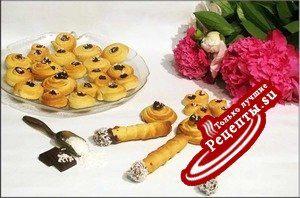 Сигары, ушки, завитушки- кокосовые печенушки