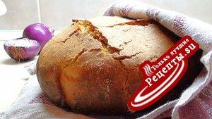 «Случайная» закваска и хлебушек на ней.