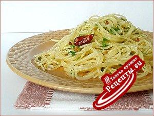 "Спагетти ""Алио олио"""