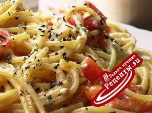 """Спагетти """"Привет из Греции"""""""