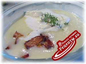 Спаржевый суп-пюре