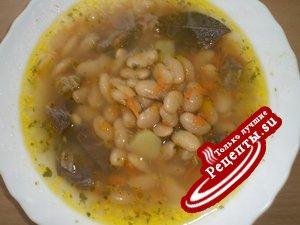 Суп Фасолевый с говядины