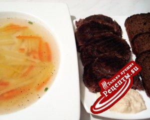 Суп из мяса изюбря (рецепт – информация, не для оценки)