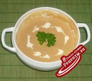 Суп из тыквы с грецкими орехами