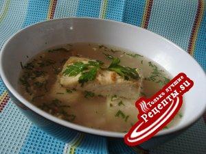 Суп рыбный с рисом