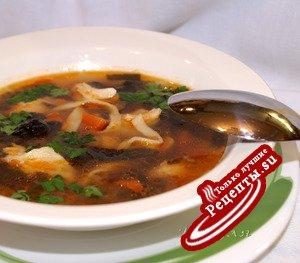 """Суп с грибами по мотивам """" уйхази"""""""
