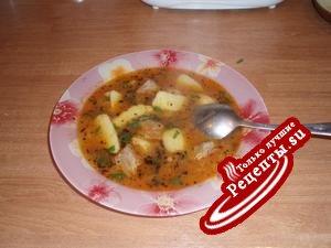 "Суп-соус ""Яйни"""