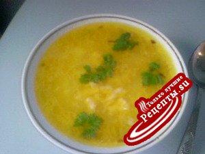 """Суп """"Затирка""""-для тех, кому надоели традиционные супы."""