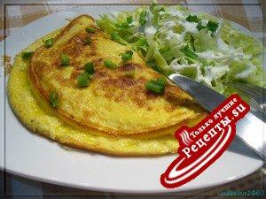 Сырный омлет (завтрак для двоих)