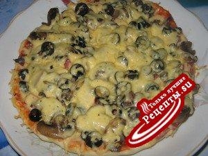 Тесто для пиццы, которое можно замораживать впрок.