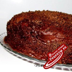 "Торт ""Баскский берет"""
