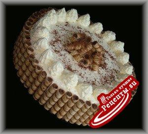 """торт с творожным кремом """"Нежность"""""""