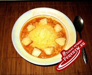 Турецкий чечевичный суп-пюре