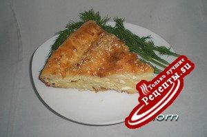 Творожно-сырный пирог