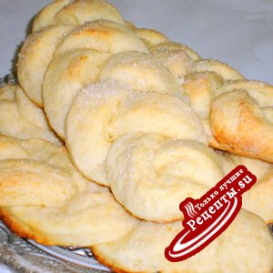 Творожные булочки - косички