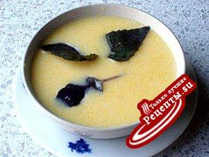 Тыквенно-яблочный холодный суп