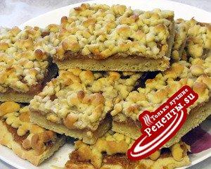 Влажное печенье с яблоком или по мотивам венского