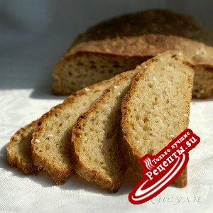 Яблочный хлеб (закваска на кураге)