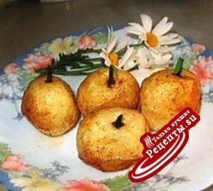 """""""Яблоки"""" из картошки"""