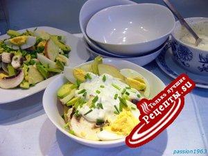 Яичный салат однажды по другому
