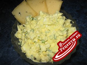 Яичный салат(Вариант)