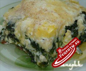 Яйца со шпинатом в кремовом соусе. Не очень быстрый, но очень вкусный завтрак - 2.