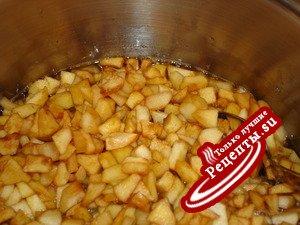 Заготовка из яблок для пирога