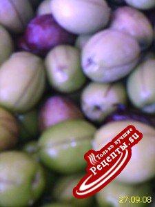 заготовка на зиму:зелёные оливки