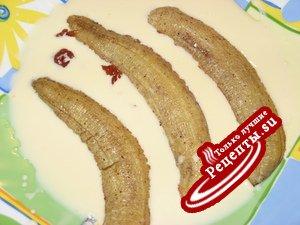 Запеченные бананы с мёдом и корицей