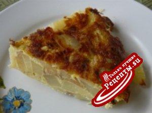Жареная картошка, вверх тормашками( вариант, не для оценки)